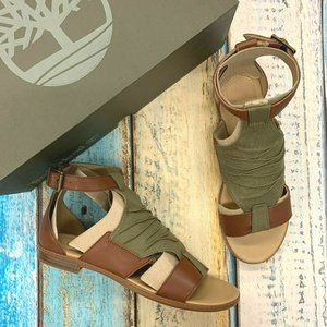 Timberland Women's Leather & Fabric Sandals